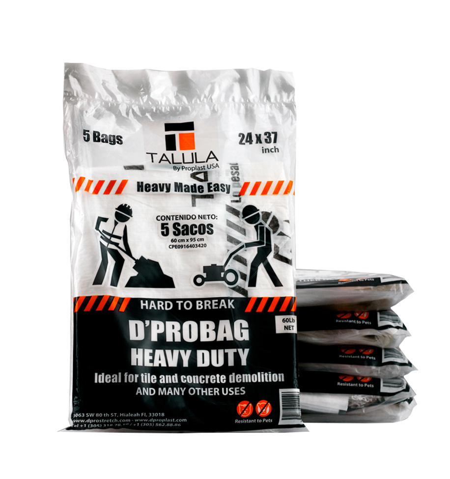 EXTRA HEAVY DUTY BAG DPROBAG